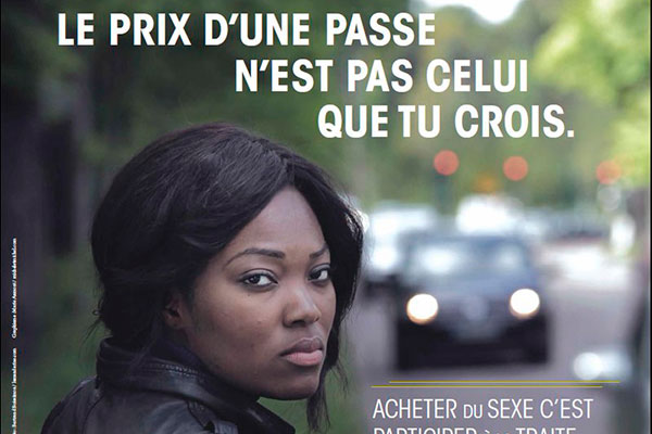 Campagne contre prostitution