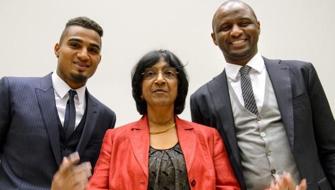 Boateng dichiara all'ONU che il razzismo è come la malaria