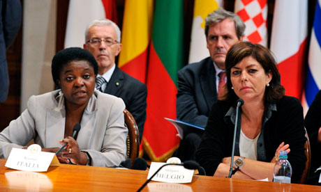 EU ministers condemn racism aimed at Italian minister Cécile Kyenge