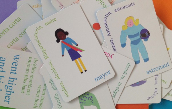 A card game teaching children the value of diversity
