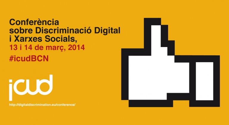 Nota de premsa – Conferència internacional sobre discriminació digital i xarxes socials