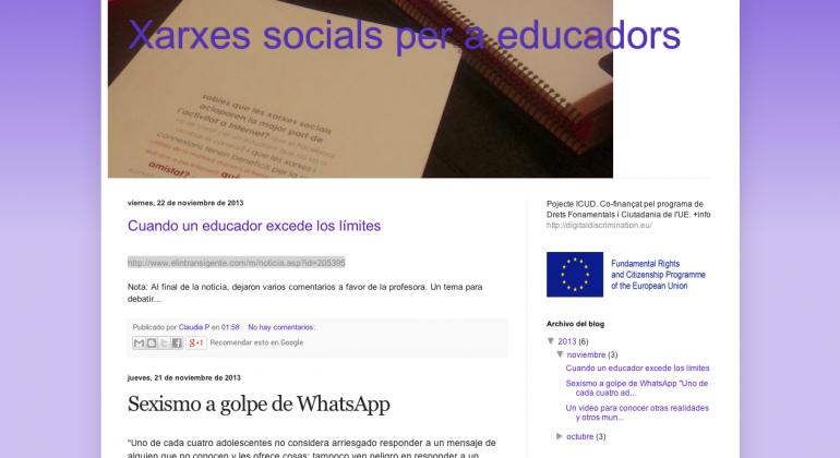 Blog dels educadors