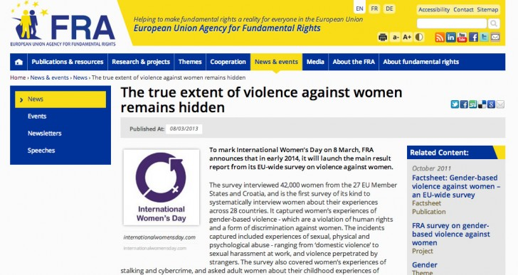 Hidden violence against women