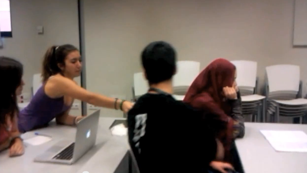 Video de sensibilización creada en un taller ICUD con jóvenes